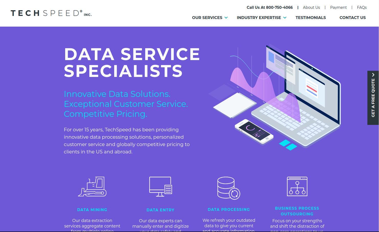 Data Entry Services - TechSpeed